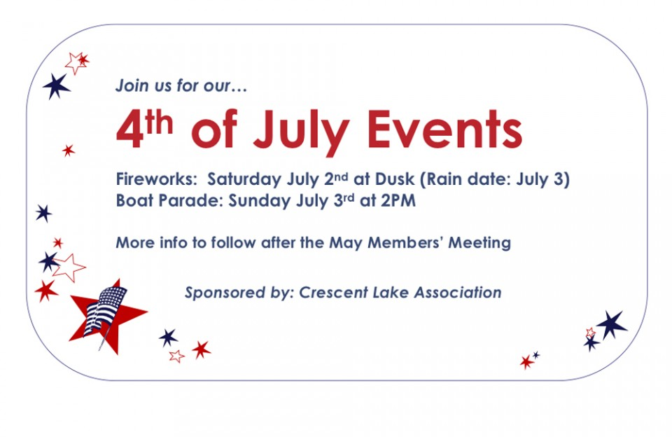 4th of July events - 2016