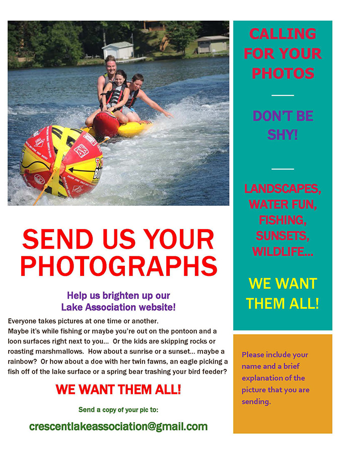 We need your photos!