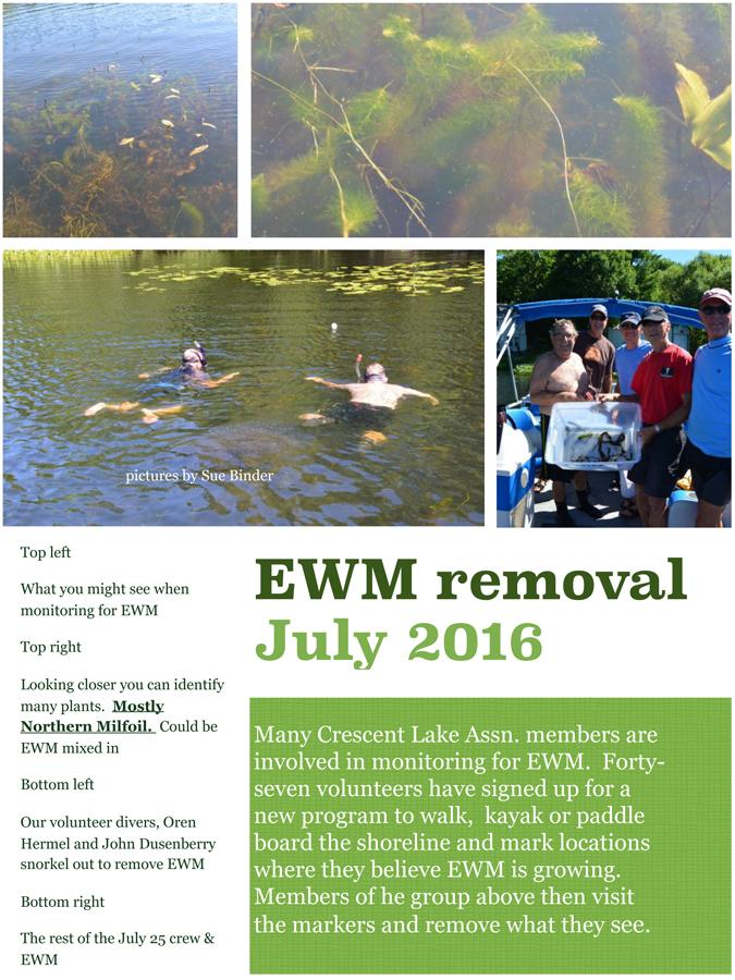 2016 EWM removal